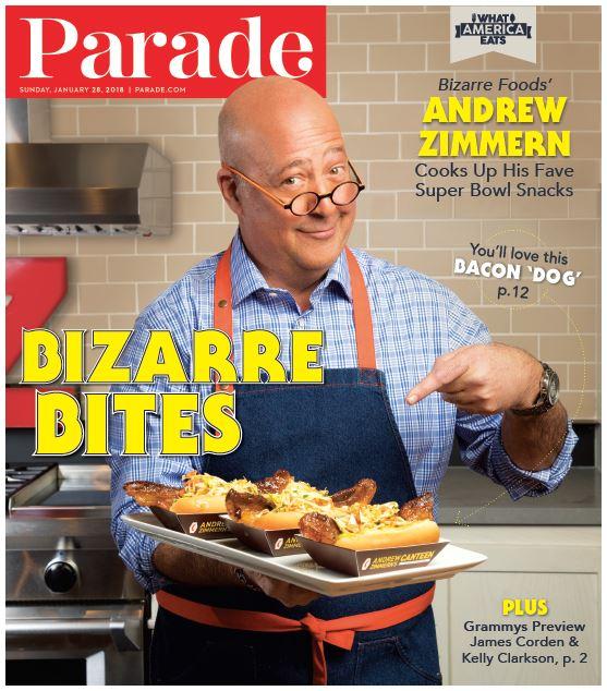 Parade: Andrew Zimmern Super Bowl Favorites - The Brooks