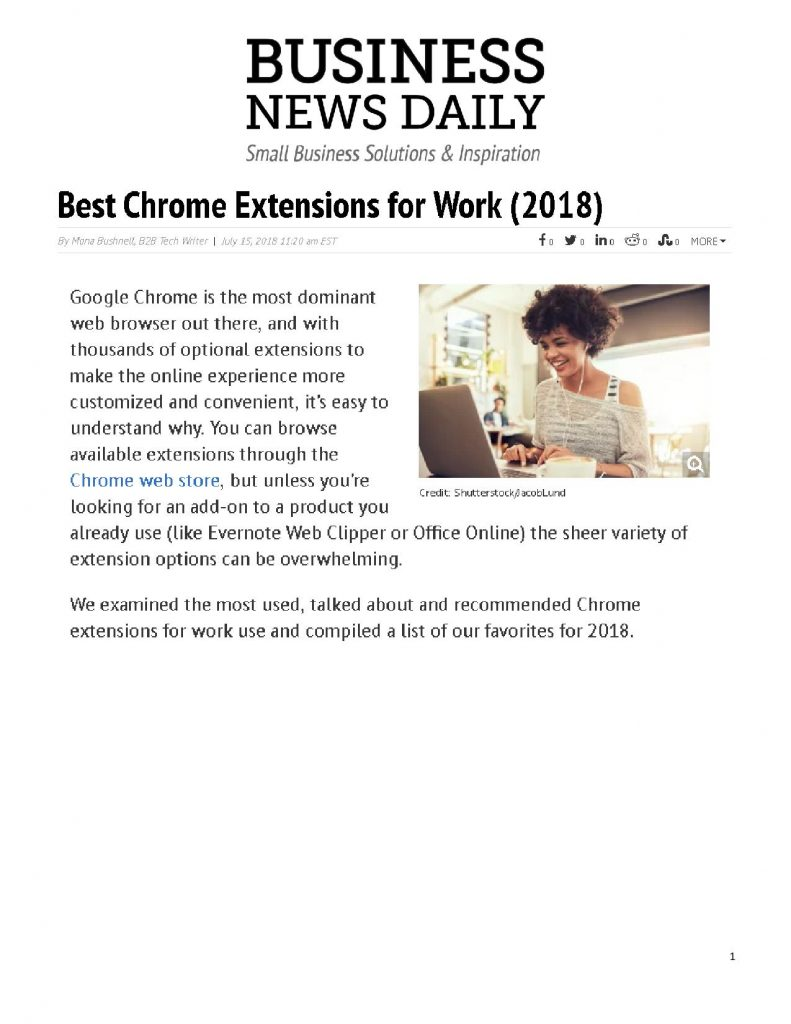 Honey: Best Chrome Extensions for Work (2018) - The Brooks